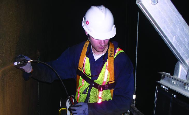 使用BFET进行NDT焊缝裂纹检测