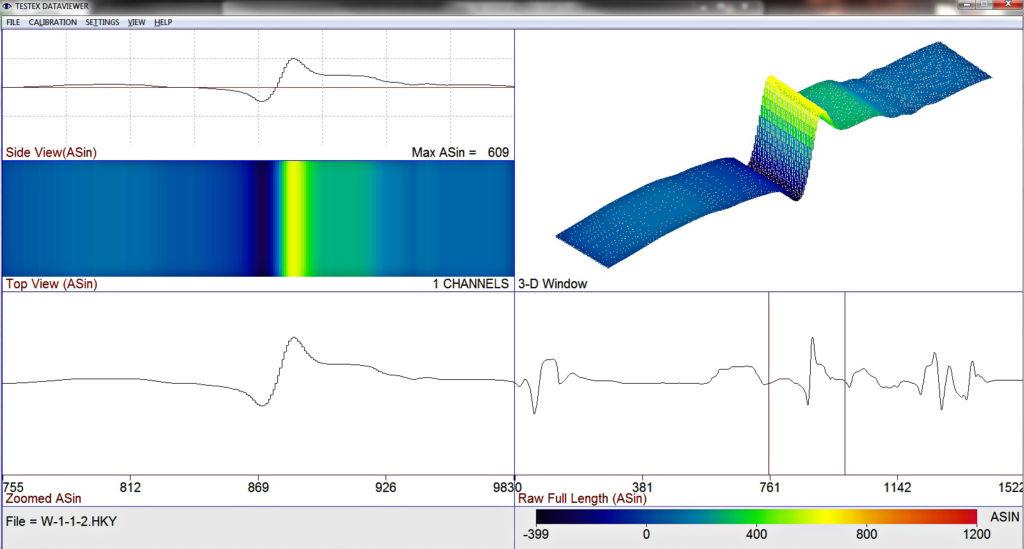 压力容器BFET波形